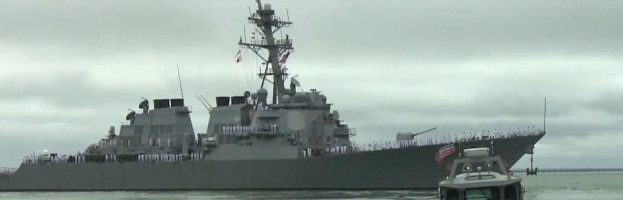 USS Stout Deploys from Naval Station Norfolk